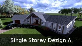 Single Storey Dezign A