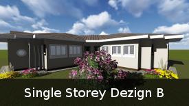 Single Storey Dezign B