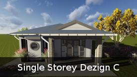 Single Storey Dezign C