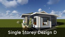 Single Storey Dezign D