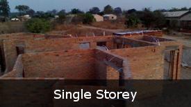 Single Storey Construction Process Images